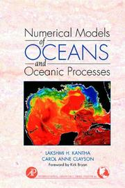Cover of: Numerical Models of Oceans and Oceanic Processes (International Geophysics Series Volume 66) (International Geophysics) | Lakshmi H. Kantha