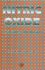 Cover of: Nitric Oxide | Jr., Jack Lancaster