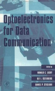Cover of: Optoelectronics for data communication |