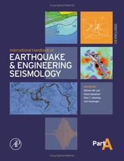 International Handbook of Earthquake and Engineering Seismology, Part A (International Geophysics)