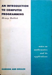 An introduction to computer programming.