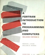 A Fortran introduction to programming and computers
