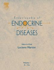 Cover of: Encyclopedia of Endocrine Diseases, Four-Volume Set, Volume 1-4 | Luciano Martini