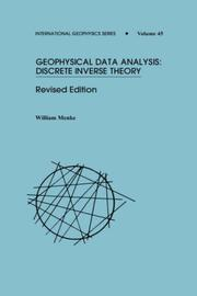 Geophysical data analysis by William Menke