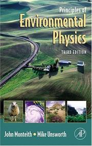 Principles of Environmental Physics, Third Edition ...