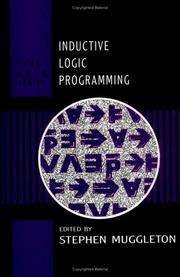 Cover of: Inductive Logic Programming (Apic Studies in Data Processing) | Stephen Muggleton