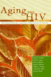 Cover of: Aging with HIV | Janice E. Nichols