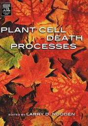 Cover of: Plant Cell Death Processes | Larry D. Nooden