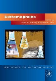 Cover of: Extremophiles, Volume 35 (Methods in Microbiology) |