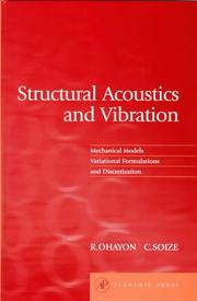 Structural Acoustics and Vibration by Roger Ohayon, Christian Soize