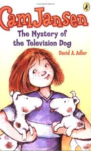 Cover of: Cam Jansen & The Mystery of the Television Dog (Cam Jansen)