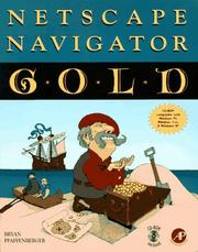 Cover of: Netscape Navigator Gold