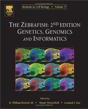 Cover of: The Zebrafish |