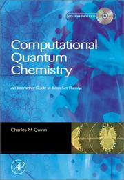 Cover of: Computational Quantum Chemistry