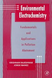 Cover of: Environmental electrochemistry