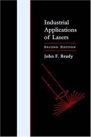 Cover of: Industrial applications of lasers