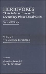 Herbivores: Their Interactions with Secondary Plant Metabolites, Volume 1, Second Edition