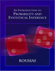 Cover of: An Introduction to Probability and Statistical Inference