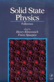 Cover of: Solid State Physics Advances in Research and Applications (Volume 48)