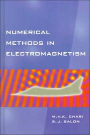 Cover of: Numerical Methods in Electromagnetism | Sheppard Salon
