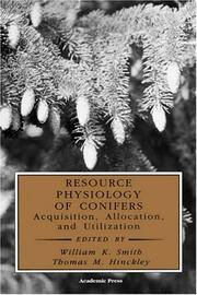 Cover of: Resource Physiology of Conifers |