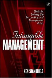 Intangible Management by Ken Standfield