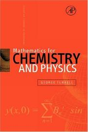 Cover of: Mathematics for Chemistry & Physics | George Turrell