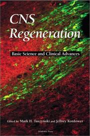 Cover of: CNS Regeneration |