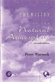 Cover of: Chemistry of the natural atmosphere