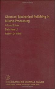 Cover of: Chemical mechanical polishing in silicon processing |