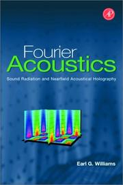Cover of: Fourier Acoustics | Earl G. Williams