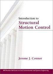 Cover of: Introduction to structural motion control