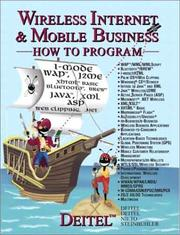 Cover of: Wireless Internet and Mobile Business How to Program | Harvey M. Deitel