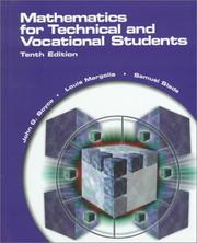 Cover of: Mathematics for technical and vocational students | John G. Boyce