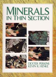 Cover of: Minerals in Thin Sections | Dexter Perkins