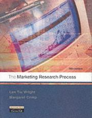 Cover of: The marketing research process