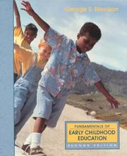 Cover of: Fundamentals of early childhood education | George S. Morrison