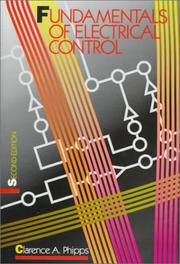 Cover of: Fundamentals of electrical control |