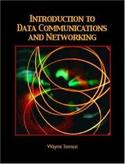 Cover of: Introduction to data communications and networking
