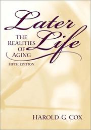 Later life by Cox, Harold