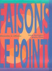 Cover of: Faisons le point!