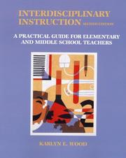 Cover of: Interdisciplinary Instruction | Karlyn E. Wood
