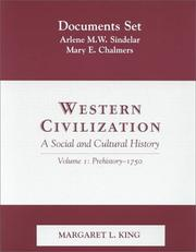 Cover of: Western Civilization: A Social and Cultural History  | Margaret L. King