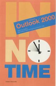 Cover of: Outlook 2000 (In No Time) | Glesbert Dmaschke