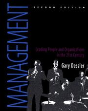 Management by Gary Dessler