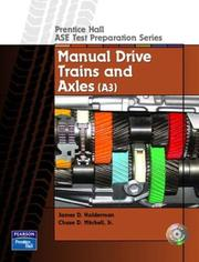 Cover of: Guide to the ASE Exam-Manual Drive Trains and Axels