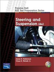 Cover of: Steering and Suspension (A4) (Prentice Hall - ASE Test Preparation Series)