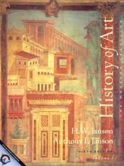 Cover of: History of Art: The Western Tradition, Vol. I | H. W. Janson