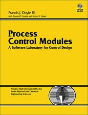 Cover of: Process control modules