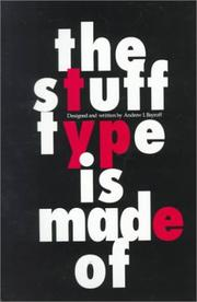 Cover of: The stuff type is made of
